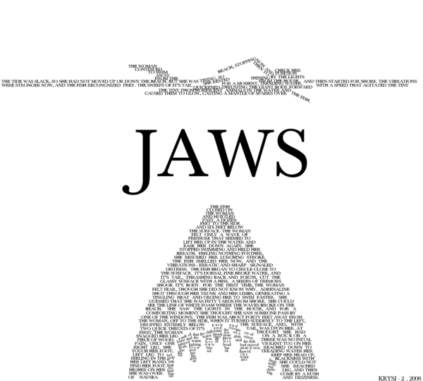 JAWS___Typography_Version_by_iwannabegackt