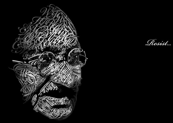 Mahatma_Gandhi_in_Type_by_Dencii