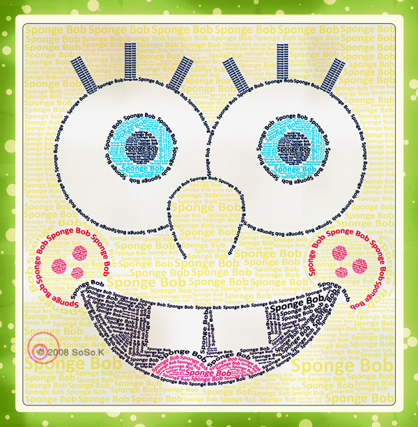 Sponge Bob Typography