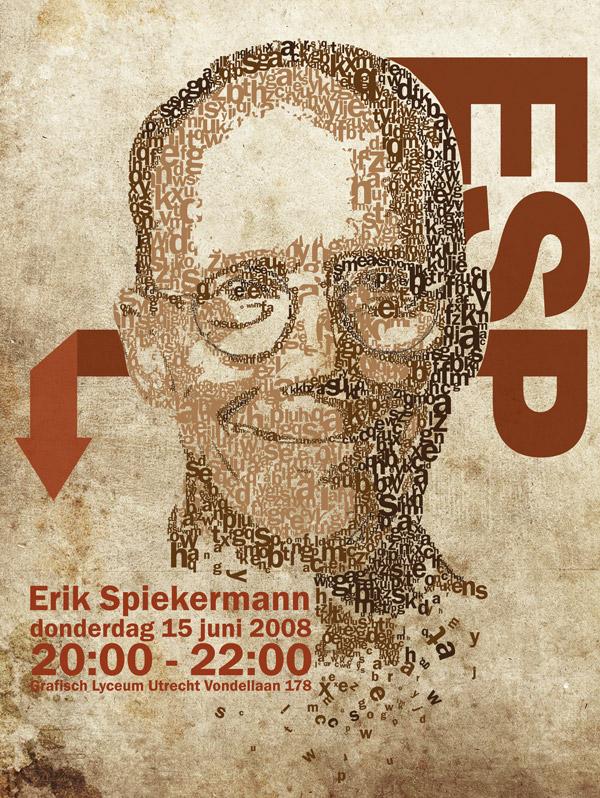 Typography Portrait 2 by Steve Butabi