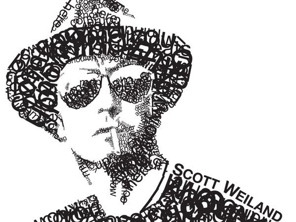 Typography Portrait by Steve Butabi