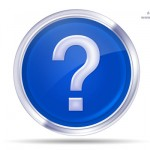 Blue Question mark Psd