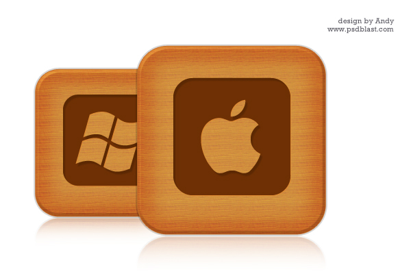 wooden-style-social-icons
