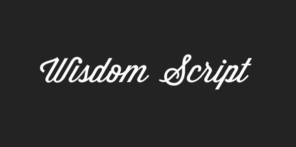 Wisdom Script