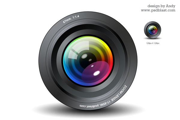 ... photo lens illustration vector shape icon glossy icon lens refraction