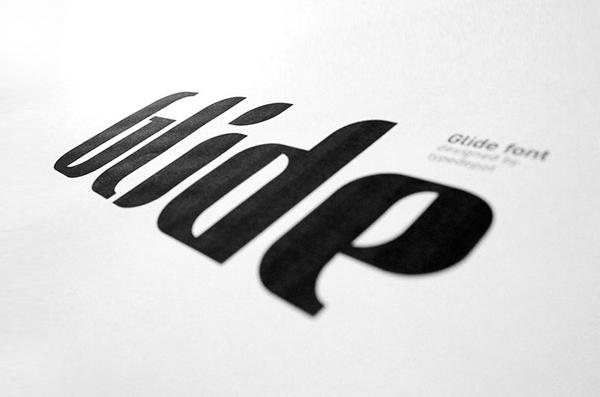 glide free font