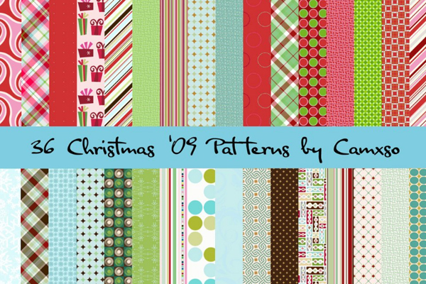 Christmas patterns by Camxso