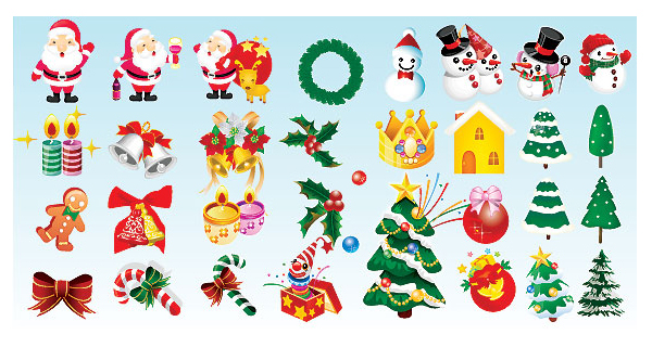 Christmas Icons by Dezignus