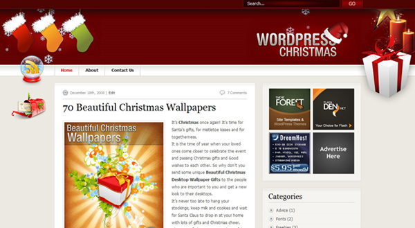 Christmas WordPress