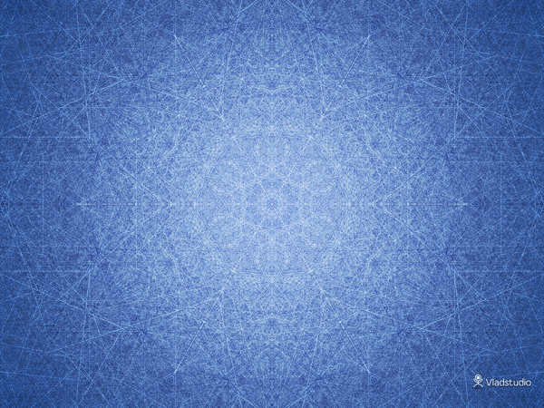 Inside a Snowflake wallpaper