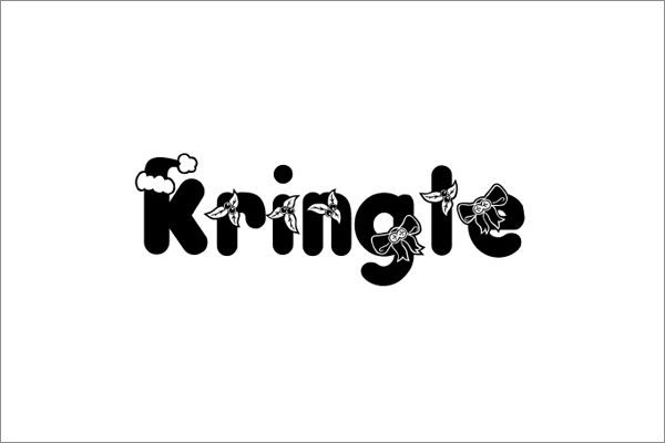 Kringle free font