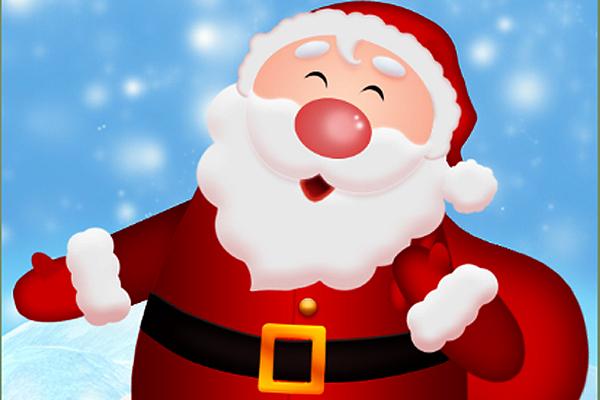 Santa psd - My X-Mas Present by S-a-t-i-n-e