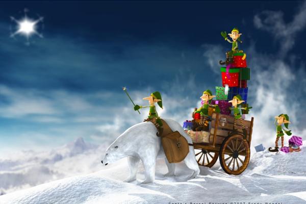 Santa's Parcel Service by Fredy3D