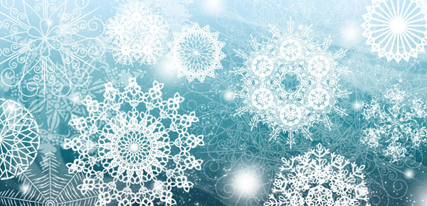 Snowflake Brushes by arsgrafik