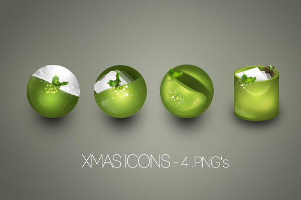 Xmas Icons by kakkr