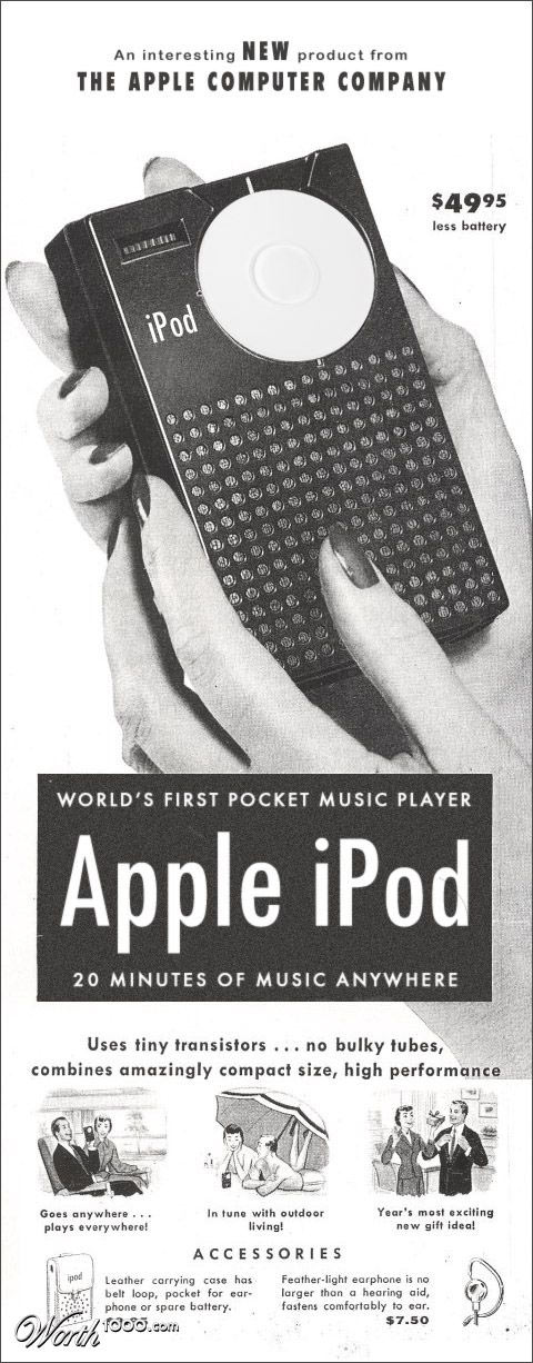 Early iPod Ad by mcdj18