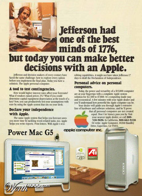 Power Mac G5 vintage advertisement