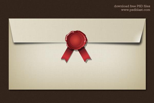Blank Envelope Template (PSD) | Psdblast