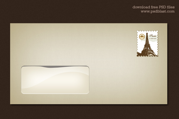 Blank Envelope Template