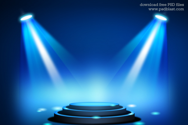 Effects of Blue Light http://psdblast.com/stage-lighting-background-with-spot-light-effects-psd