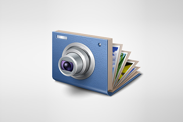 Application Icon for FlippingBook Photographer by Iconka