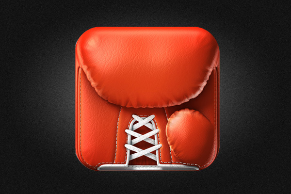 Boxing Timer Pro iOS App Icon design by Konstantin Datz