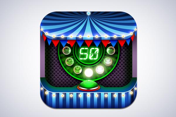 Carnival Lights iOS App Icon design by Aditya Nugraha Putra