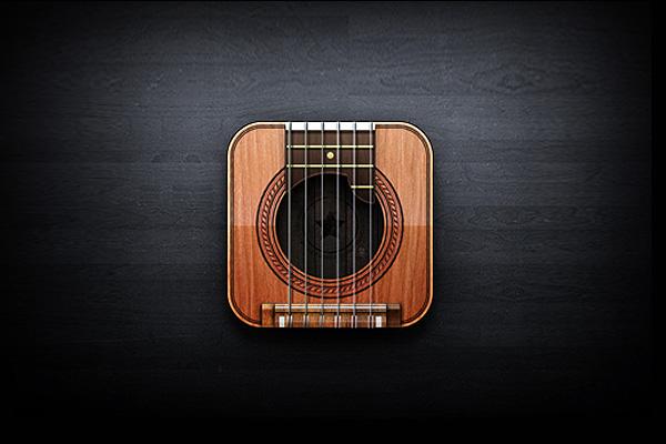 Guitar Icon by Javi Perez