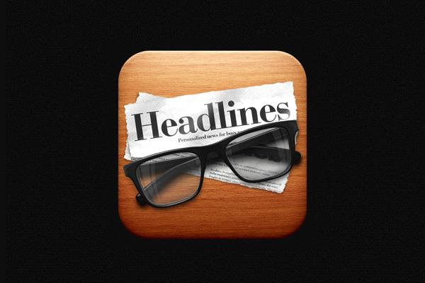 Headlines Reader icon by David Im
