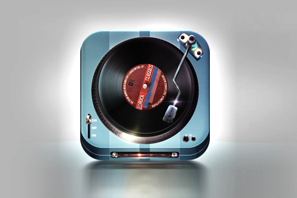 LP Player by Melvin ten Napel