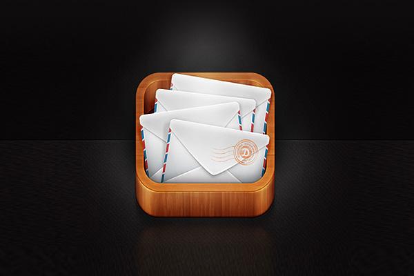 Mail App Icon by Daniela Alves