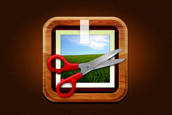 PhotoForge iOS App Icon develop by GhostBird Software