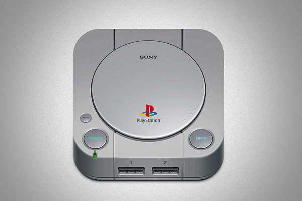 Playstation One icon by Raphael Lopes