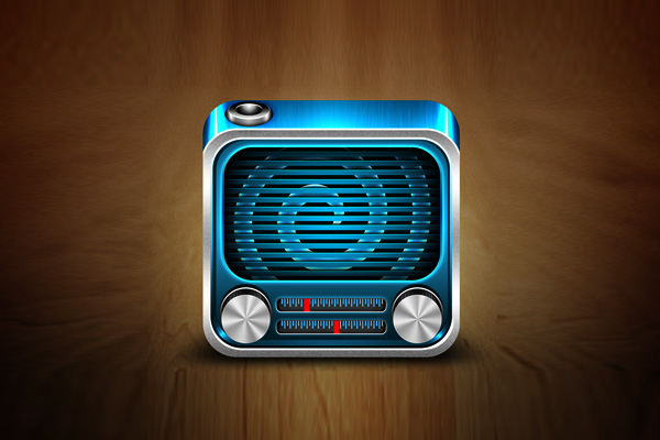 Radio IOS icon by Aditya Nugraha Putra