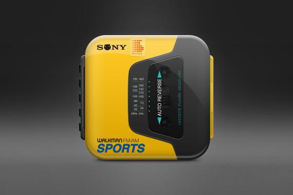 Sony Walkman Sports icon by David Im