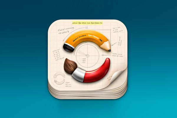 SyncSpace icon by Plexform