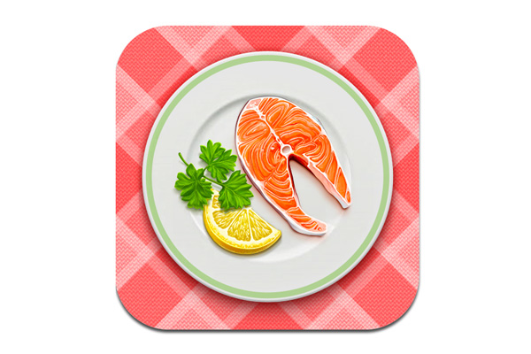 What I Eat iOS App Icon