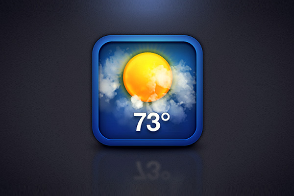 iOS Weather Icon by Alvin Thong
