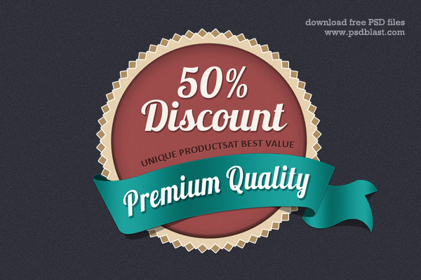 discount coupon web badge