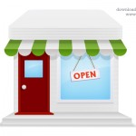 Online Store Icon (PSD)