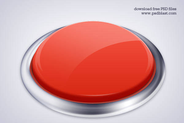 High Resolution Push Button icon (PSD)