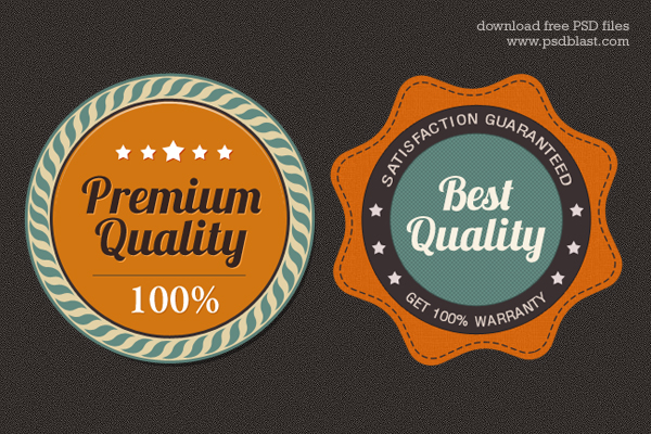 Premium Quality Web Badge