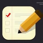 Checklist Icon (PSD)