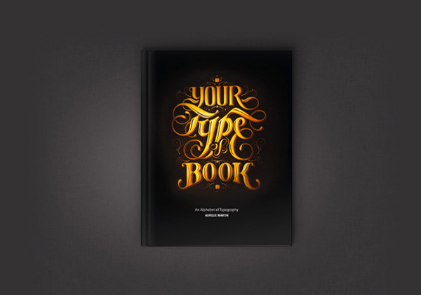 Your Type of Book- Typography Design by Aurelie Maron