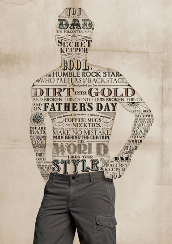 Dockers typography design by Hayley Woon