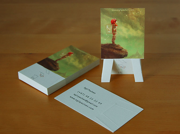 Easel business card by egil.paulsen