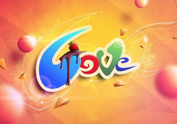 Love Typography Design by Marcin Zasada