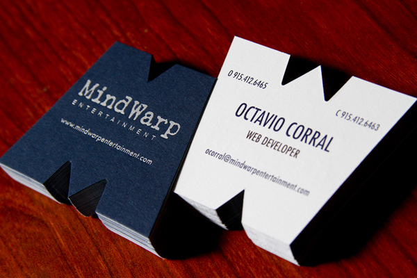 MindWarp Business Cards by MindWarp LLC