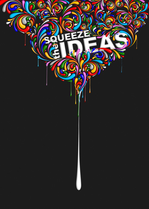 Squeeze da ideas project by CHIN2OFF