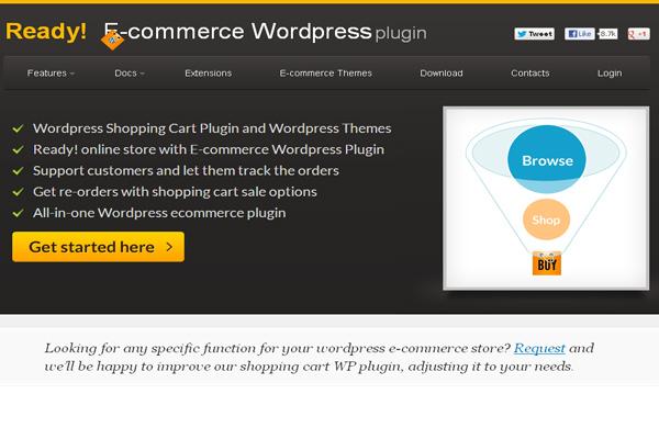 Ready! E-commerce WordPress Plugin